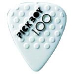 Pickboy White Ceramic Grip Pick Medium .70mm [PBCER070]