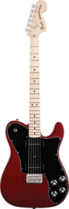 Fender Classic Player Telecaster® Deluxe™ with Black Dove Pickups - Crimson Red Transparent [0141902338]