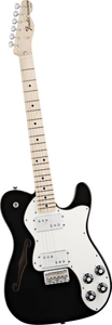 Fender Classic Player Telecaster Thinline Deluxe Electric Guitar  Black [0141802306]