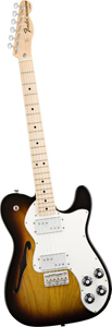 Fender Classic Player Telecaster® Thinline Deluxe™ Electric Guitar - 3-Tone Sunburst [0141802300]