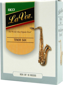 La Voz Tenor Saxophone Reeds - Medium Soft