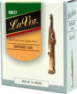 La Voz Soprano Saxophone Reeds - Medium Hard