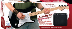 Starcaster EG Black