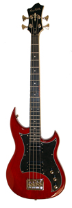 Hagstrom HB-4 Wild Cherry Transparent