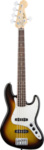 Fender Standard Jazz Bass V (5-String) - Brown Sunburst Tint