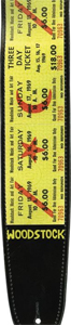 Planet Waves Woodstock Strap - Tix [25lw01]