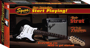 Squier Stop Dreaming, Start Playing™ Set: Affinity Strat® Special with Fender Frontman Amp® 1 [0301605006]