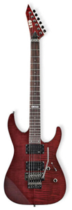 LTD M-100 FM - See Thru Black Cherry
