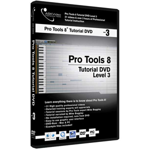 Ask Video Pro Tools 8 Tutorial DVD Level 3 [PRO8L3]