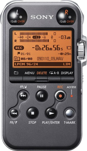 Sony PCM-M10 Portable Digital Recorder - Black [PCMM10/B 	]