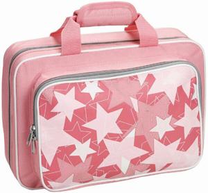 Kaces Grafix Polyfoam Clarinet Case - Pink Stars