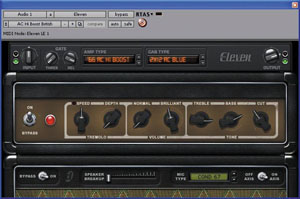 Digidesign Eleven LE Plug-In [99105786700]