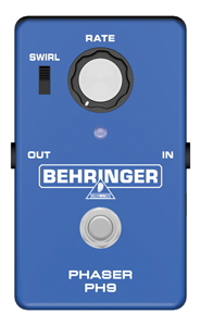 Behringer PH9 Phase Shifter Pedal [ph9]