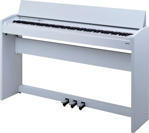 F-110 Compact Digital Piano - White Black