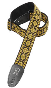 M8HT-17 Hootenanny Poly Strap - Gold/Yellow