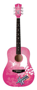 HMDPA34 Acoustic Hannah Montana - Miley Cyrus Guitar - Pink