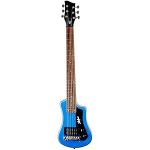 Hofner Shorty Guitar - Blue