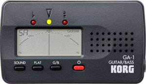 Korg GA-1 Guitar and Bass Tuner [ga-1]