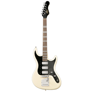 Hofner Galaxie - White Finish [hct-glx-w]