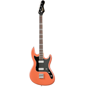 Hofner Galaxie Bass - Orange-Red [hct-glxb-or]
