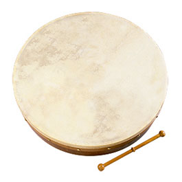 Waltons 18-inch Bodhran Package - Classic Dark Brown [wmp1900418DB]