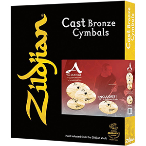 Zildjian  A Custom Box Set with Free 18-inch Custom Crash [A20579-11]
