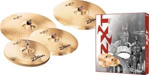 Zildjian ZXTR4P-9 ZXT Rock Cymbal Box Set [ZXTR4P-9]