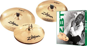 ZBT 3 Starter Bonus Cymbal Pack with Free 14