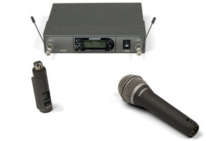 Samson AirLine Synth True-Diversity Wireless UHF Handheld Microphone System [SWSYSHX-N]
