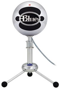 Blue Snowball- Brushed Aluminium