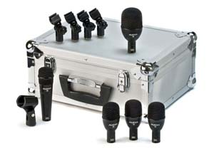 FP5 Fusion Series 5-Piece Drum Microphone Kit