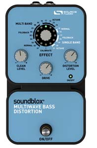 Source Audio Soundblox Multiwave Bass Distortion [SA125]