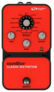 Source Audio Soundblox Classic Distortion [SA124]