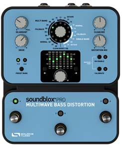Source Audio Soundblox Pro Multiwave BASS Distortion [SA141]
