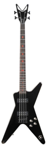 Metalman 2A ML Bass Guitar - Classic Black
