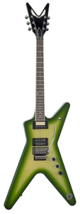 DFH Dime Slime ML Electric Guitar - Slime Green