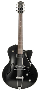 Godin 5th Avenue CW Kingpin II Archtop - Black []