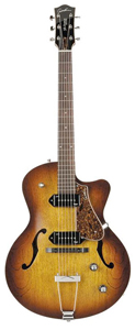 Godin 5th Avenue CW Kingpin II Archtop - Cognac Burst []