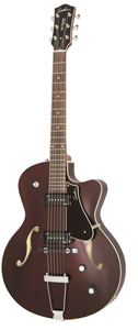 Godin 5th Avenue CW Kingpin II Archtop - Burgundy []