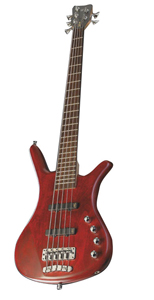 Warwick Corvette Basic 5-String Burgandy Red Bass [RBL904677-09]