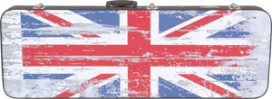 Kaces Hardshell Electric Guitar Case - British Flag [GWHE-BRFG]