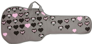 Kaces GXE-GP1 Electric Guitar Bag - Girly Punk