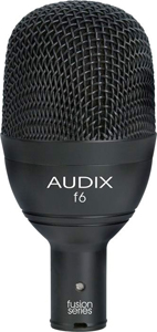 Audix F6 Fusion Series - Kick Drum Instrument Mic [f6]