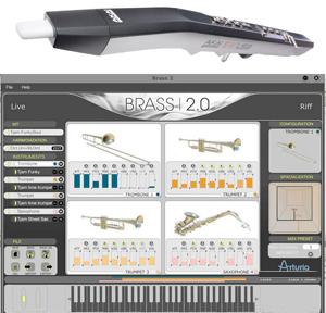 Arturia Brass 2 + EWI USB Bundle [brass2EWI]