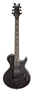 Deceiver Floyd Flame Top - Trans Black