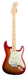 American Deluxe™ Stratocaster® - Sunset Metallic- Maple Neck