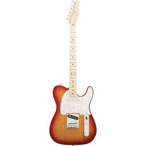 American Deluxe™ Telecaster® - Aged Cherry Burst- Maple Neck