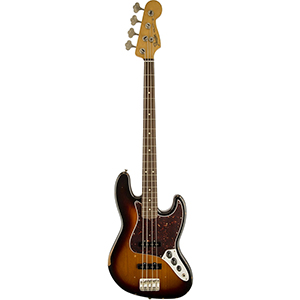 Fender Road Worn 60s Jazz Bass - 3-Color Sunburst