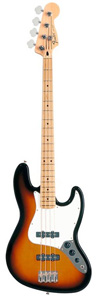 Standard Jazz Bass - 3-Color Sunburst - Rosewood