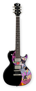 Luna Guitars Neo Single Cutaway Your Space Black [NEO YSP]